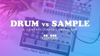 Volca Sample vs. Volca Drum (A Compassionate Comparison)