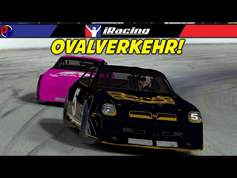 MEIN 1. MAL OVALVERKEHR! | Ovalrennen In IRacing 4K Gameplay German Deutsch