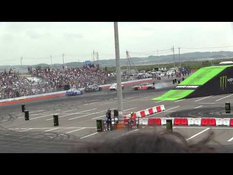 Monster Energy presents Ken Block's Nagoya Experience With D1GP - D1 show - Drift Japan