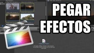 Final Cut Pro X - #30: Copiar y pegar efectos