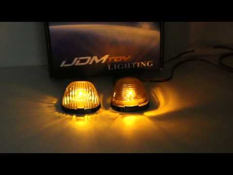 iJDMTOY LED Cab Roof Light Lens and Reflector Housing Upgrade