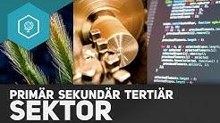 Primärer, Sekundärer und Tertiärer Sektor - Wirtschaftssektoren 2 ● Gehe auf SIMPLECLUB.DE/GO