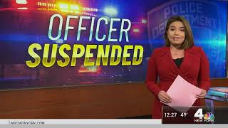 NYPD Officer Suspended After 'Trump 2020' Comments on Loudspeaker   NBC New York