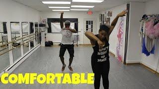 k camp comfortable official dance video  juliusjones choreography