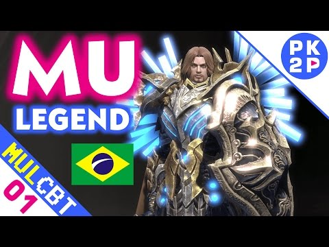 MU Legend ► Classes, Combate, Quests e Boss CBT#01 PT BRASIL