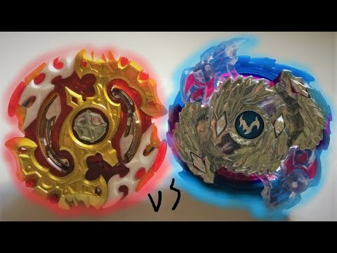 Spryzen Requiem S3 0 Zeta vs Luinor L3 Destroy : Beyblade Burst Evolution