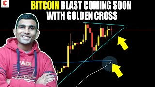 BITCOIN Blast Coming Soon With Golden cross of 50 & 200 MA, TON coins free for community - CRYPTOVEL