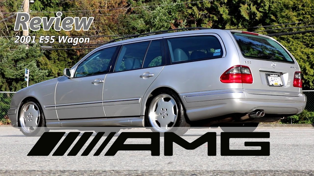 The JDM-EURO Rocket Wagon - 2001 Mercedes E55 AMG Wagon Review
