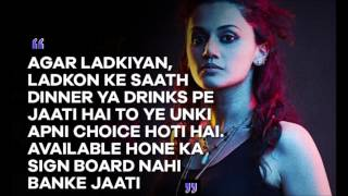Hard Hitting Dialogues From The Extraordinary Movie   Pink!