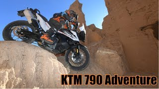 KTM 790 Adventure in Morocco
