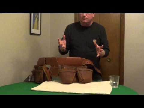 How to Maintain a Leather Tool Belt