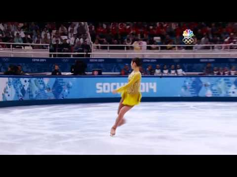 Yuna Kim - Send In The Clowns @ Sochi Olympics (Mixed Commentary)