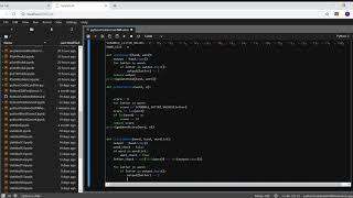 Python Problemset 4 word game Scrabble screenshot 4