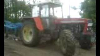 Tractor Zetor Crystal 12245 with Lemken Thorit 8