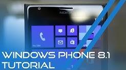 Windows Phone 8.1 Tutorial (Deutsch/German)