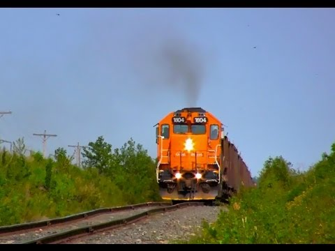 [HD] Full Throttle GP38-2 Work train