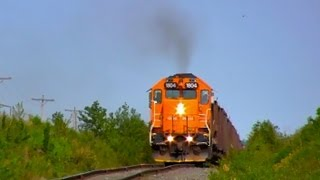 [HD] Full Throttle GP38-2 Work train