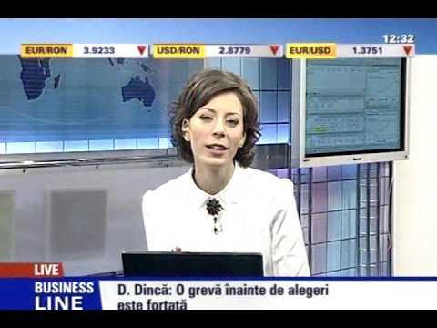 Dragos Dinca la Money Channel, despre greva functionarilor