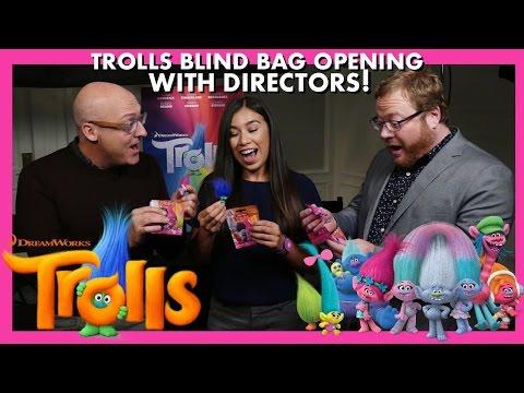 TROLLS MOVIE INTERVIEW ! WALT DOHRN, MIKE MITCHELL, & MORE! TROLLS BLIND BAG UNBOXING Mp3