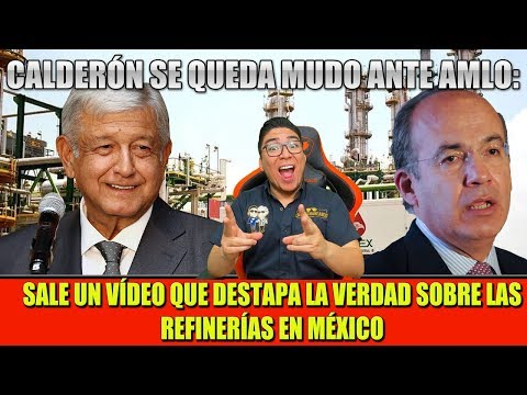 LA SUERTE ESTA CON AMLO, SALE VIDEO REVELADOR DE FELIPE CALDERÓN ¡SE QUEDA MUDO!