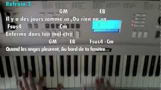 "M.POKORA - ""En attendant la fin"" (Tutoriel Piano) - Mise a jour"