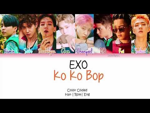 EXO (엑소) - KO KO BOP Lyrics [Color Coded/Han/Rom/Eng]