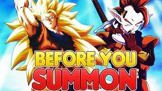 before you summon new lr ssj3 goku tapion dragon ball z dokkan battle