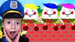 Humpty Dumpty Nursery Rhyme - English Rhymes for children