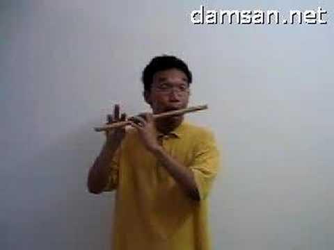 Sáo trúc cơ bản- Các note nhạc trên sáo