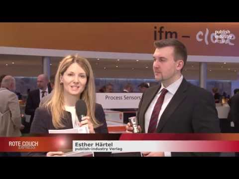 LR Prozess Hygiene LR2750 von ifm electronic GmbH, ROTE COUCH EXPRESS, Hannover Messe 2015