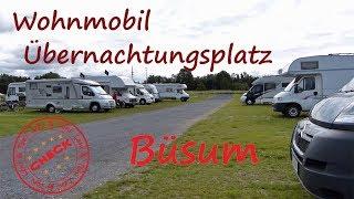 Leni & Toni CHECK: Wohnmobilübernachtungsplatz BÜSUM | Nordsee