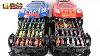 Learning Color Special Disney Pixar Cars Lightning McQueen Mack Truck car case for kids car toys