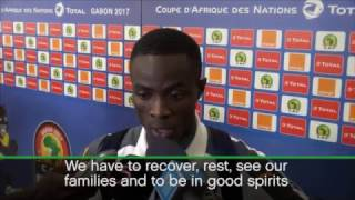 Eric Bailly discusses being eliminated from Afcon