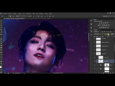BTS Jungkook || Magical (Speed Art Photoshop)