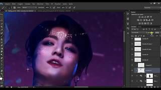 BTS Jungkook    Magical (Speed Art Photoshop)