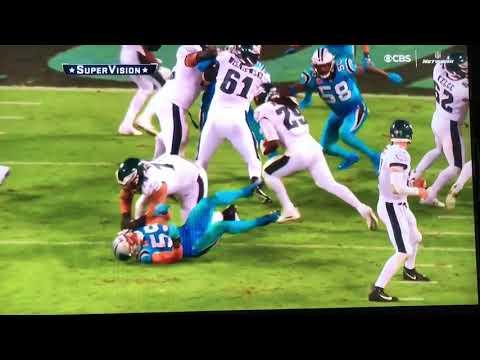 Tony Romo Best Calls Thursday Night Football Philadelphia Eagles at Carolina Panthers