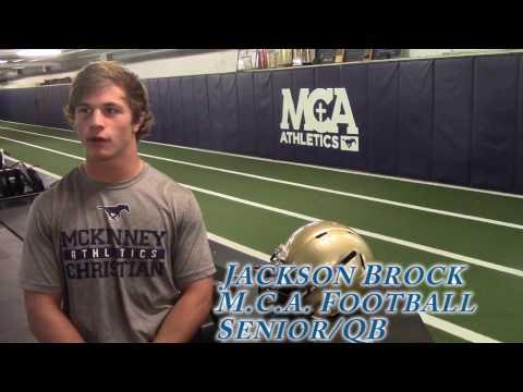 McKinney Christian Academy's Jackson Brock Talks About Teams Dream Season