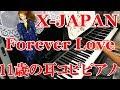 【XJAPAN】Forever Love【11歳の耳コピピアノ】