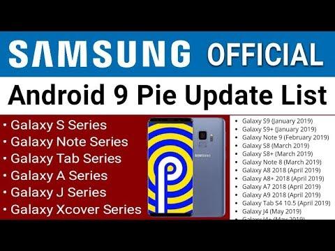 Download Samsung Letest Pie Update List One Ui Update List 2019 J