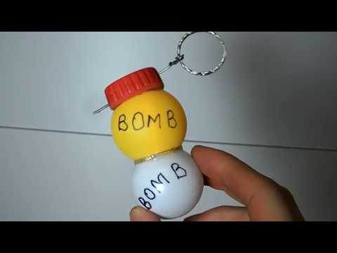 How to make toy grenade bomb