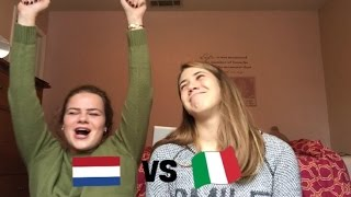 LANGUAGE CHALLENGE - ITALIAN VS DUTCH