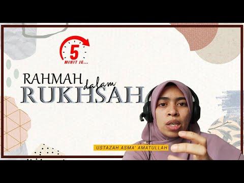 5 Minit Jer Ep 7: Rahmah Dalam Rukhsah