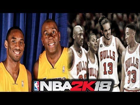 NBA 2k18 - NEW All Time Teams  7ff8ad0dc