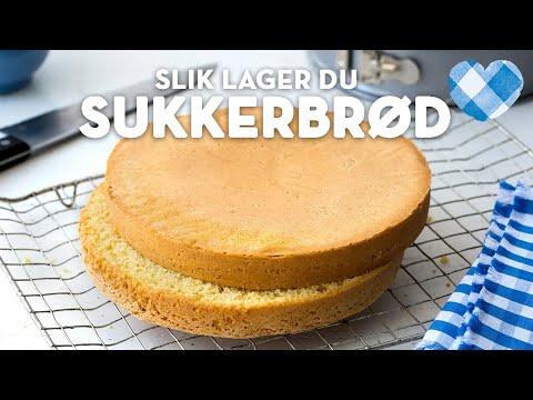 Oppskrift på sukkerbrød - kan enkelt lages dagen før du lager kake   TINE Kjøkken