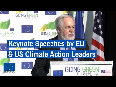Welcome remarks and keynote speeches by EU and US climate action leaders