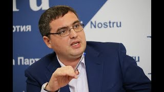 Ренато Усатый в программе Politica c Натальей Морарь на TV8 ()