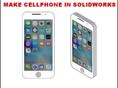 Solidworks Tutorial || Make A Phone In Solidworks||