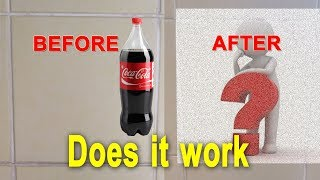 cleaning tiles and grouts with coca cola