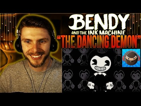 "Vapor Reacts #346 | BENDY AND THE INK MACHINE SONG ""The Dancing Demon"" by TryHardNinja REACTION!!"