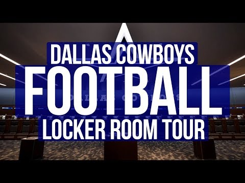 The Dallas Cowboys Locker Room | The Star Headquarters